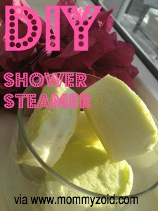 DIY shower Steamer
