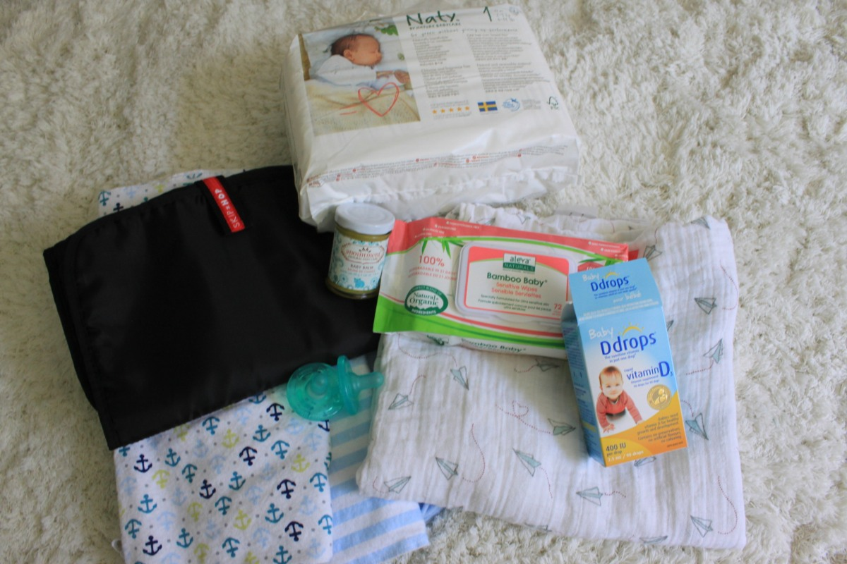 What to pack for baby for labour and delivery