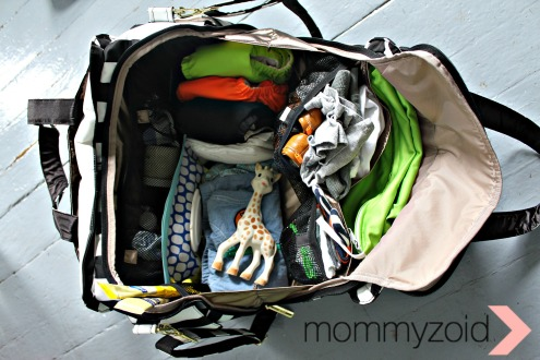 Diaper Bag Tour -- www.mommyzoid.com